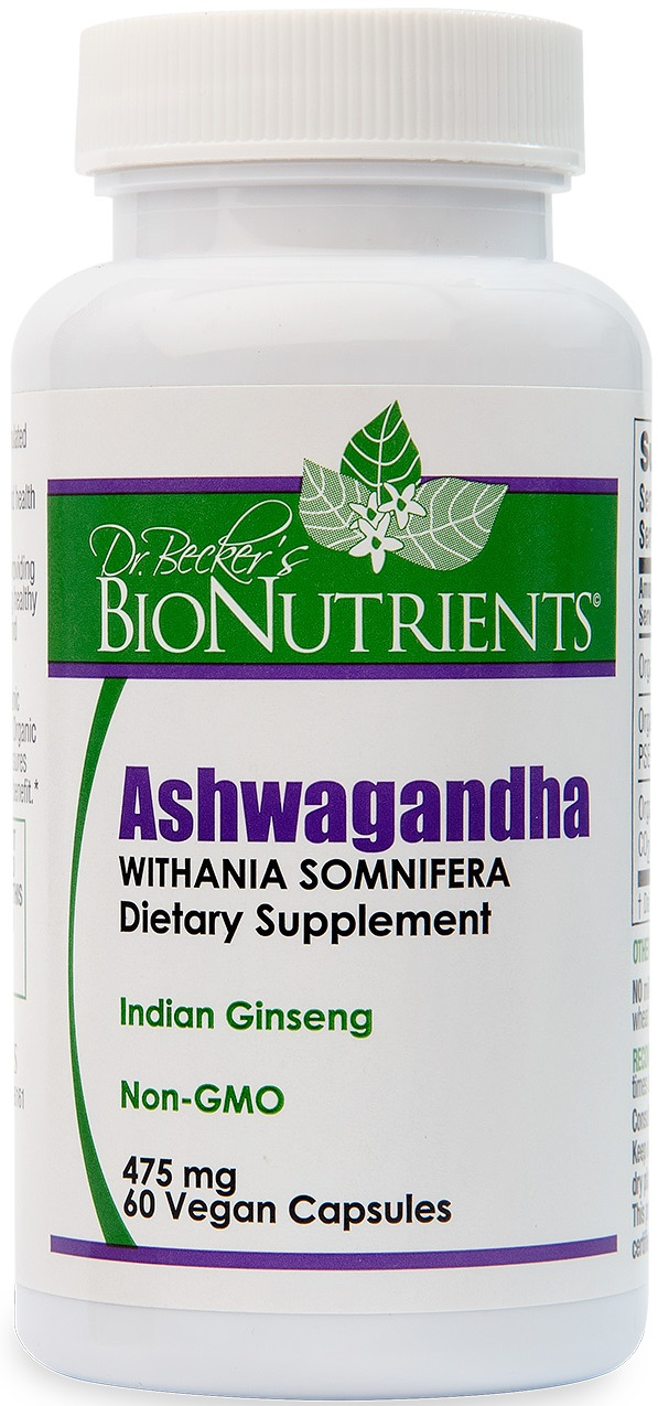 Ashwagandha Extract, Organic CO2, 60 ct